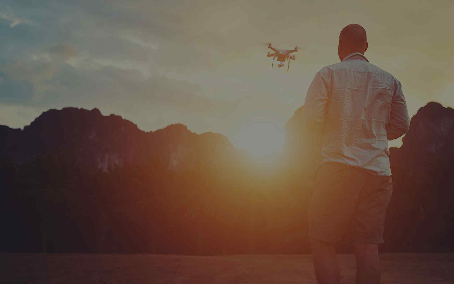 Snimanje dronom photo sky art